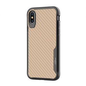 For iPhone X/Xs BeeTUFF Carbon Silver