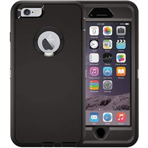 For iPhone 7+/8+ Heavy Duty Black
