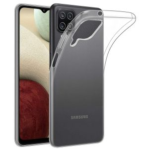 For Samsung A12 Clear Gel Case
