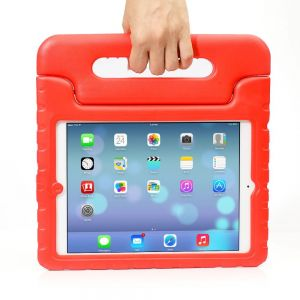 For iPad Air 1/2/9.7 Red Handle Case