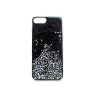 For iPhone 6+/7+/8+ NEW Sparkle Black
