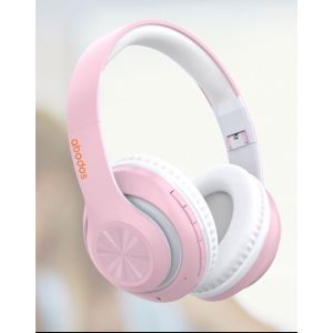 Abodos Headphones Pink  AS-WH13