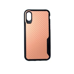 For iPhone X/Xs BeeTUFF Carbon Rose