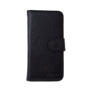For Samsung A81 Good Leather Wallet Black