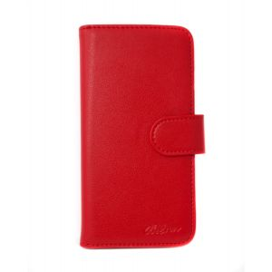 For iPhone X/XS Good Leather Wallet Red
