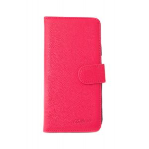 For iPhone 5/5s/SE Good Leather Wallet Pink