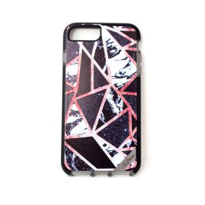 For iPhone 6+/7+/8+ BeeTuff Marble Sparkle