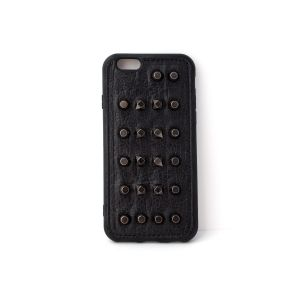For iPhone 7/8 Black Stud Case