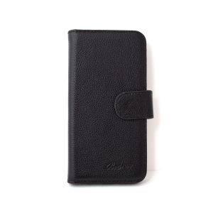 For Samsung A20e Good Leather Wallet Black