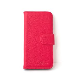 For Samsung A20e Good Leather Wallet Pink