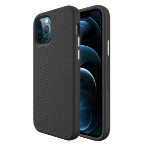 For iPhone 12 Pro Max BeeTUFF Black Triangle