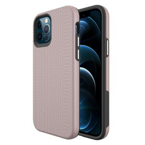 For iPhone 12 Pro Max BeeTUFF Rose Triangle