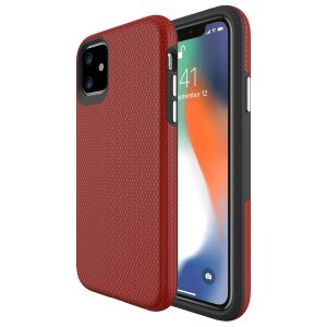 For iPhone 11  BeeTuff Triangle Red