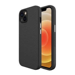 For iPhone 13 BeeTUFF Black Triangle Case