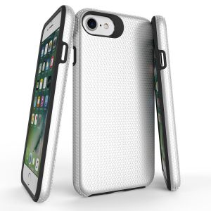For iPhone 6/7/8/SE2020 BeeTuff Triangle Silver