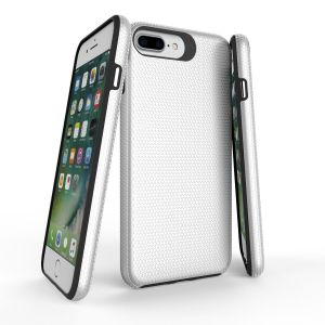 For iPhone 6+/7+/8+ BeeTuff Triangle Silver