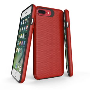For iPhone 6+/7+/8+  BeeTUFF Triangle Red