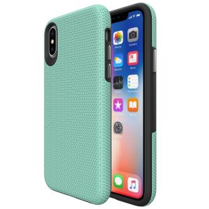 For iPhone X/Xs BeeTUFF Triangle Mint