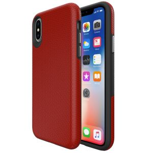 For iPhone X/Xs BeeTUFF Triangle Red