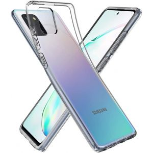 For Samsung Note 10 Lite (A81) Gel Clear