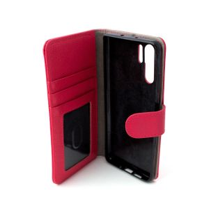 For Huawei P30 Pro Good Leather Wallet Pink