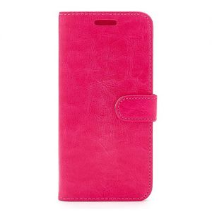 For  Samsung S9 Plain Wallet Pink