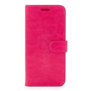 For Samsung A40  Plain Wallet Pink