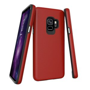 For  Samsung S9 BeeTUFF Triangle Red