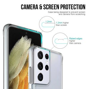 For Samsung S21 Ultra BeeTUFF Space Case