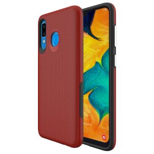 For Samsung A30 BeeTUFF Triangle Red