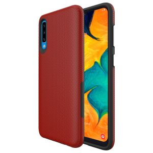 For Samsung A50  BeeTUFF Triangle Red