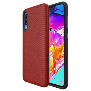 For Samsung A70  BeeTUFF Triangle Red