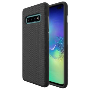 For  Samsung S10+ BeeTUFF Triangle Blk