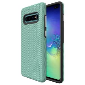 For  Samsung S10+ BeeTUFF Triangle Mint