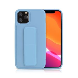 For iPhone XR Bend & Snap Light Blue