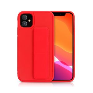 For iPhone XR Bend & Snap Red