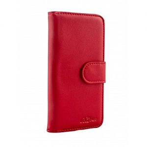 For 6/7/8/SE2020 Good Leather Wallet Red
