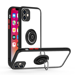 For iPhone XR Magnetic Ring Clr/Blk