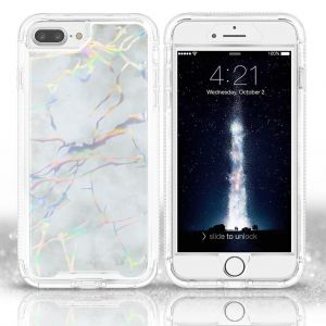 BeeTUFF Marble White For iPhone 6+/7+/8+